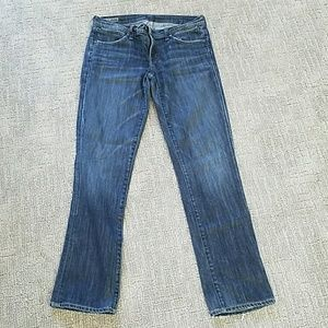 Citizen of Humanity AVA low rise/straight Jean 30